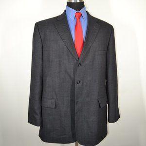 Haggar Suits & Blazers - Haggar 48L Sport Coat Blazer Suit Jacket Gray Blac
